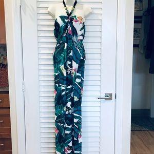 Venus Botanical Tropical Resort Maxi Dress